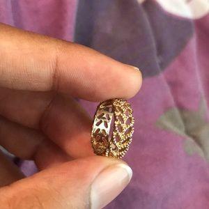 Laurel pinky Ring